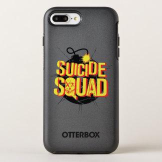Suicide Squad | Bomb Logo OtterBox Symmetry iPhone 8 Plus/7 Plus Case