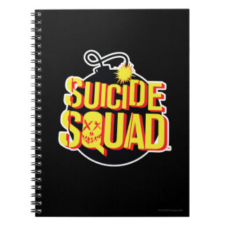 Suicide Squad | Bomb Logo Spiral Notebook