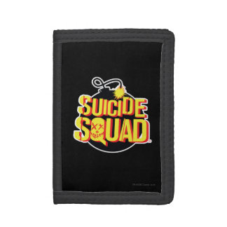 Suicide Squad | Bomb Logo Trifold Wallet