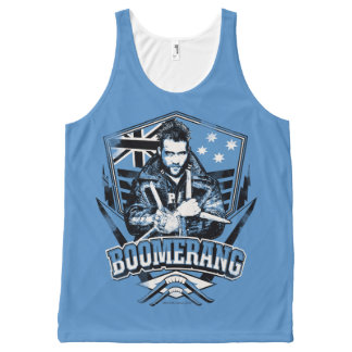 Suicide Squad | Boomerang Badge All-Over Print Tank Top