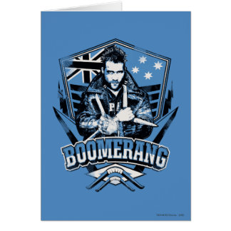Suicide Squad | Boomerang Badge Card