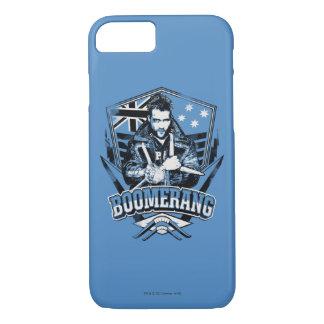 Suicide Squad   Boomerang Badge iPhone 8/7 Case
