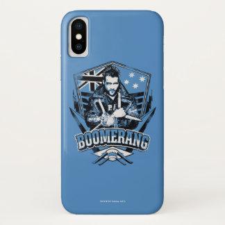 Suicide Squad | Boomerang Badge iPhone X Case