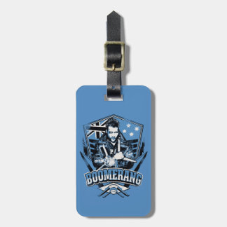 Suicide Squad | Boomerang Badge Luggage Tag