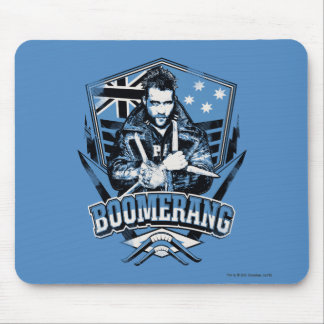 Suicide Squad | Boomerang Badge Mouse Pad