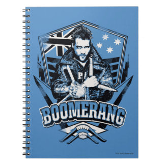 Suicide Squad | Boomerang Badge Notebook