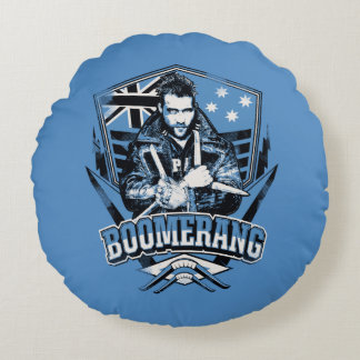 Suicide Squad | Boomerang Badge Round Cushion
