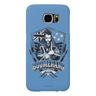 Suicide Squad | Boomerang Badge Samsung Galaxy S6 Cases
