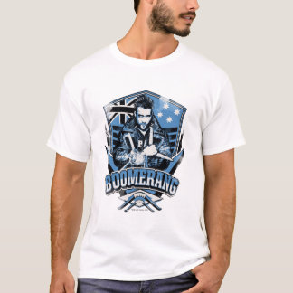 Suicide Squad | Boomerang Badge T-Shirt