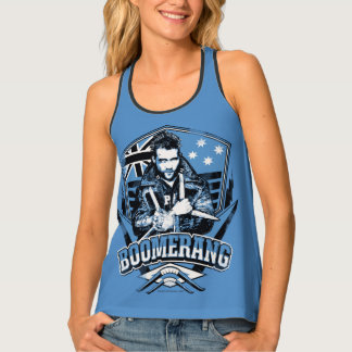 Suicide Squad | Boomerang Badge Tank Top