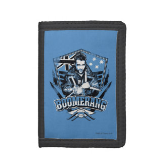 Suicide Squad | Boomerang Badge Trifold Wallet