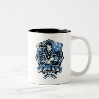 Suicide Squad | Boomerang Badge Two-Tone Coffee Mug