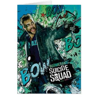 Suicide Squad | Boomerang Character Graffiti Card