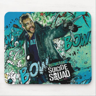 Suicide Squad | Boomerang Character Graffiti Mouse Pad