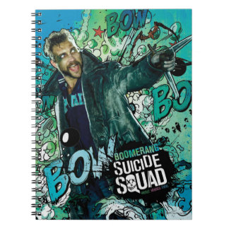 Suicide Squad | Boomerang Character Graffiti Notebook