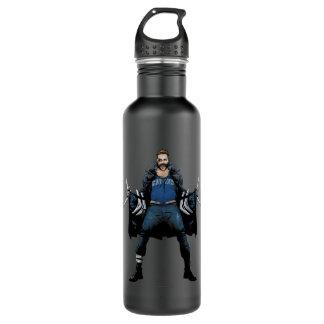 Suicide Squad | Boomerang Comic Book Art 710 Ml Water Bottle