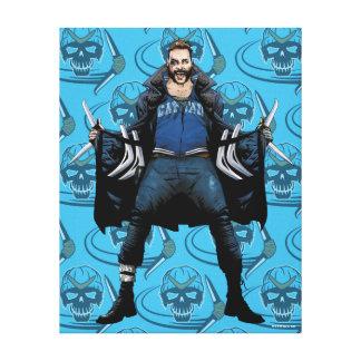 Suicide Squad   Boomerang Comic Book Art Canvas Print
