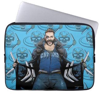 Suicide Squad | Boomerang Comic Book Art Laptop Sleeve