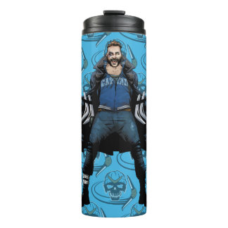 Suicide Squad | Boomerang Comic Book Art Thermal Tumbler