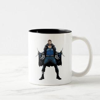 Suicide Squad | Boomerang Comic Book Art Two-Tone Coffee Mug