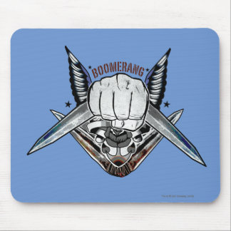 Suicide Squad | Boomerang Fist Tattoo Art Mouse Mat