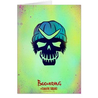 Suicide Squad | Boomerang Head Icon Card