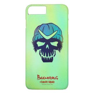 Suicide Squad | Boomerang Head Icon iPhone 8 Plus/7 Plus Case