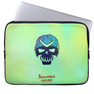 Suicide Squad | Boomerang Head Icon Laptop Sleeve