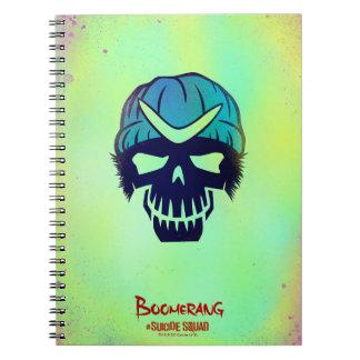 Suicide Squad | Boomerang Head Icon Notebook
