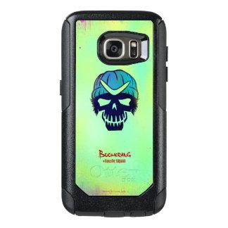 Suicide Squad | Boomerang Head Icon OtterBox Samsung Galaxy S7 Case