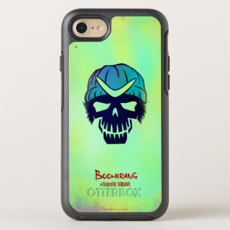 Suicide Squad | Boomerang Head Icon OtterBox Symmetry iPhone 8/7 Case