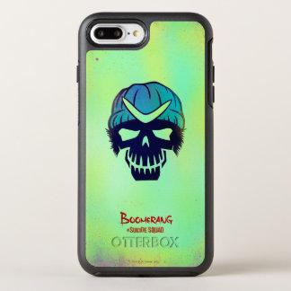 Suicide Squad | Boomerang Head Icon OtterBox Symmetry iPhone 8 Plus/7 Plus Case