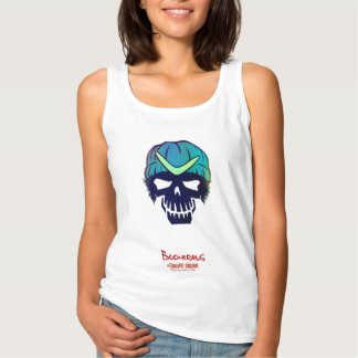 Suicide Squad | Boomerang Head Icon Tank Top