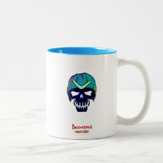 Suicide Squad | Boomerang Head Icon Two-Tone Coffee Mug