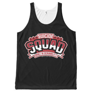 Suicide Squad | Built In Deniability All-Over Print Tank Top