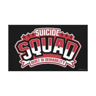 Suicide Squad   Built In Deniability Canvas Print