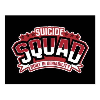 Suicide Squad | Built In Deniability Postcard