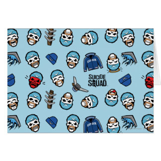 Suicide Squad | Captain Boomerang Emoji Pattern Card