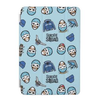 Suicide Squad   Captain Boomerang Emoji Pattern iPad Mini Cover