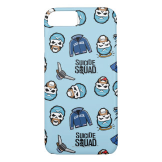Suicide Squad | Captain Boomerang Emoji Pattern iPhone 8/7 Case