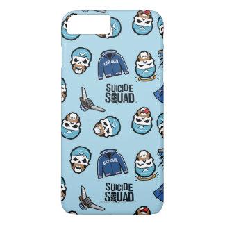 Suicide Squad | Captain Boomerang Emoji Pattern iPhone 8 Plus/7 Plus Case