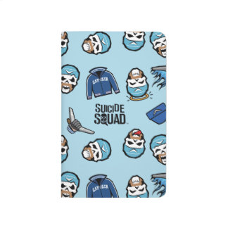 Suicide Squad | Captain Boomerang Emoji Pattern Journal