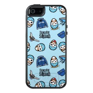 Suicide Squad | Captain Boomerang Emoji Pattern OtterBox iPhone 5/5s/SE Case