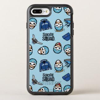 Suicide Squad | Captain Boomerang Emoji Pattern OtterBox Symmetry iPhone 8 Plus/7 Plus Case