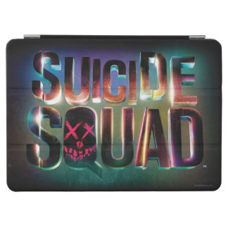 Suicide Squad | Colorful Glow Logo iPad Air Cover