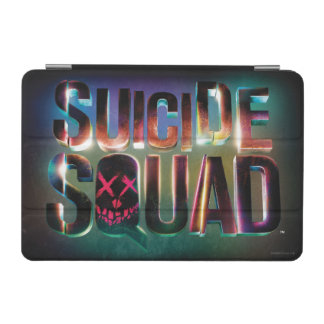Suicide Squad | Colorful Glow Logo iPad Mini Cover