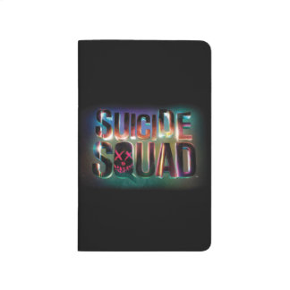 Suicide Squad | Colorful Glow Logo Journal