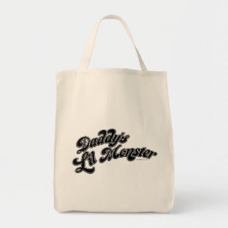 Suicide Squad | Daddy's Lil Monster Grocery Tote Bag