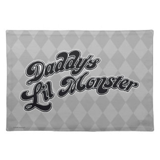 Suicide Squad | Daddy's Lil Monster Placemat