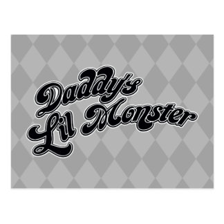 Suicide Squad   Daddy's Lil Monster Postcard